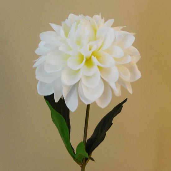 Artificial Dahlia Flowers Carnival Cream - D147 D1