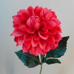 Artificial Dahlia Flowers Carnival Watermelon Pink - D109 D1