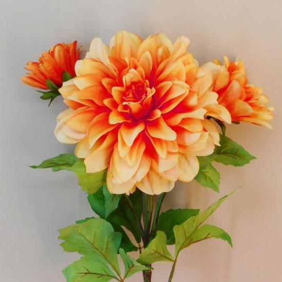 Alicia Luxury Dahlia Orange - D182 BX21