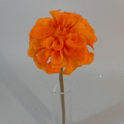 Mini Artificial Dahlias Orange - D037 GG2