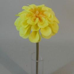 Mini Artificial Dahlias Yellow - D036 GG2