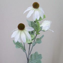 Artificial Black Eyed Susan Silk Flowers Cream - D100 LL3
