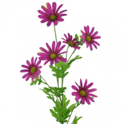 Artificial Daisy Stem Magenta - D015 C2