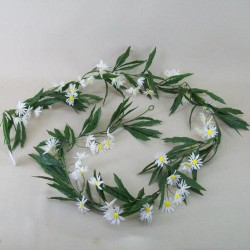 Artificial Daisy Garlands - D096 D4