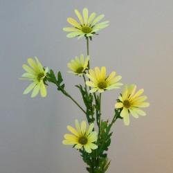 Artificial Daisy Stem Yellow - D052