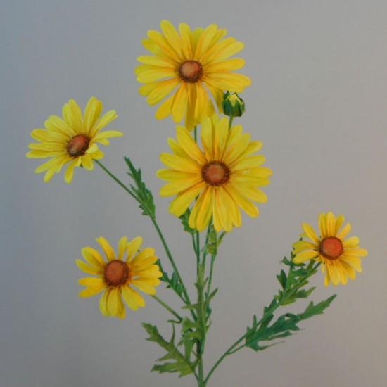 Silk Daisies | Large Artificial Field Daisy Yellow - D130 D2