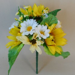 Artificial Flowers Posy Sunflowers and Daisies - S026 FF2