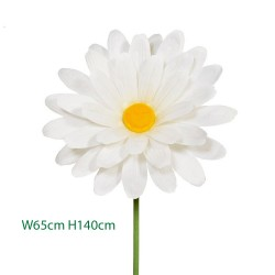 Giant Supersized Silk Daisy 140cm | VM Display Prop - D056 CC