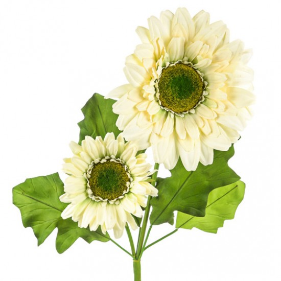 Giant Supersized Artificial Daisies Cream | VM Display Prop - D168 F1