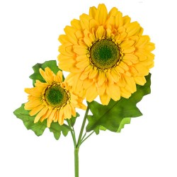 Giant Supersized Artificial Daisies Yellow | VM Display Prop - D170 F1