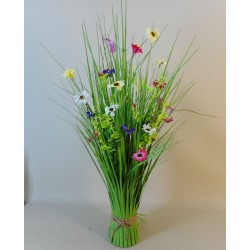 Grass Bundle with Daisies and Butterflies - MED009 FF1