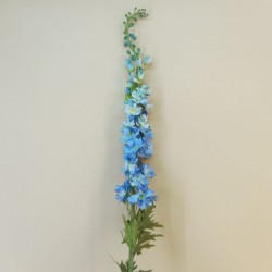 Artificial Delphiniums Gigante Light Blue 135cm - D008 KK1