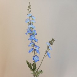 Artificial Meadow Delphiniums Blue - S053 LL1