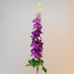 Extra Long Purple Silk Delphinium or Larkspur - D027 BX5