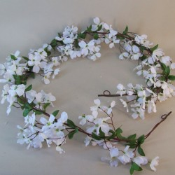 Artificial Dogwood Garlands - D116 KK3