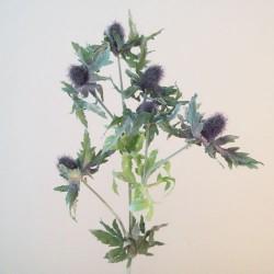 Artificial Eryngium Thistles Sea Holly Lavender Blue - E018 F1