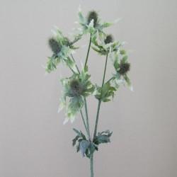 Artificial Eryngium Thistles Sea Holly Green - E008 BX1