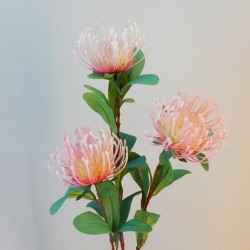 Rydal Artificial Leucospermum Protea Pink - L041 AA3