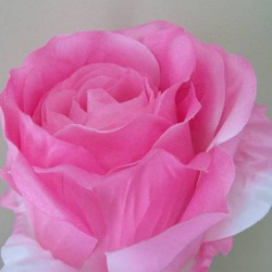 Extra Large Artificial Roses Pale Pink - R274 KK1