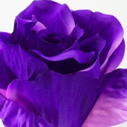 Extra Large Artificial Roses Purple - R379 BX 5
