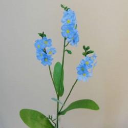 Artificial Forget Me Nots Spray Blue - F052 E4