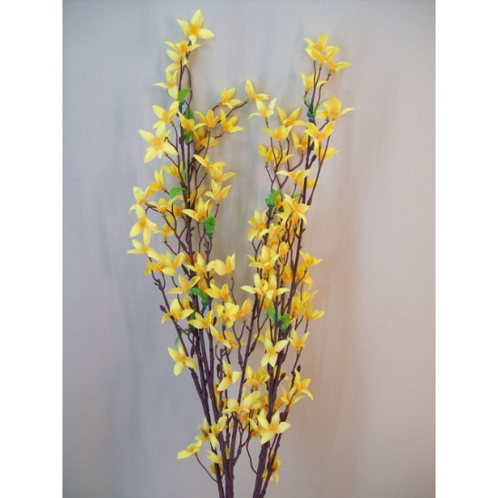 Artificial Forsythia Bush Yellow - F053 E1