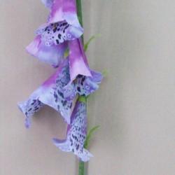 Artificial Foxgloves Purple - F049