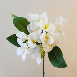 Artificial Frangipani White - F003 F4