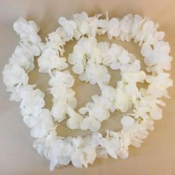 Artificial Petals Garland Cream 260cm - R808 R2