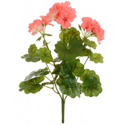 Artificial Geranium Plant Pink - G110A