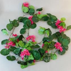 Fleur Geranium Garland Hot Pink - G092 GG3