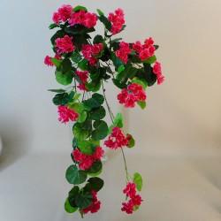 Fleur Trailing Artificial Geraniums Plants Hot Pink - G090 F1