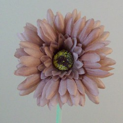 Artificial Gerbera Mink Small - G142 F2