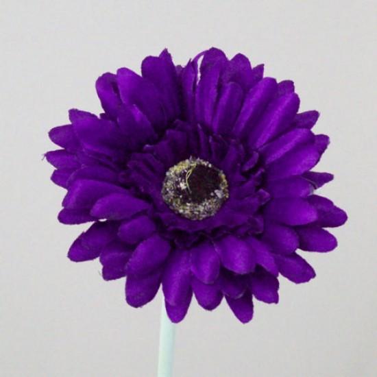 Artificial Gerbera Purple Small - G131 F2