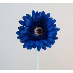 Artificial Gerbera Royal Blue Small - G151 F2