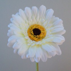 Artificial Gerbera Cream - G161 F3