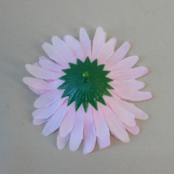Artificial Gerberas Pink Heads Only 9.5cm  - G093