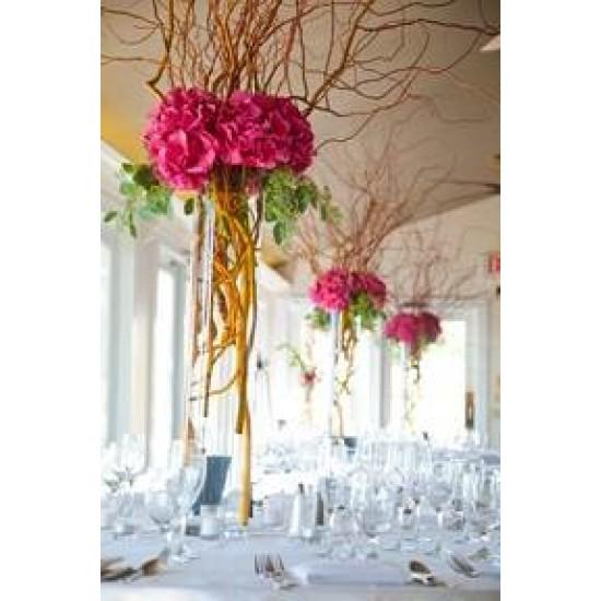 Giant Silk Hydrangeas Hot Pink - H009 F4