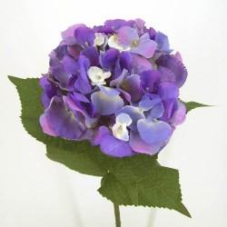 Giant Silk Hydrangeas Lavender Purple - H014 F4