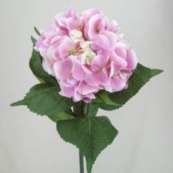 Giant Silk Hydrangeas Soft Pink - H036 BX3