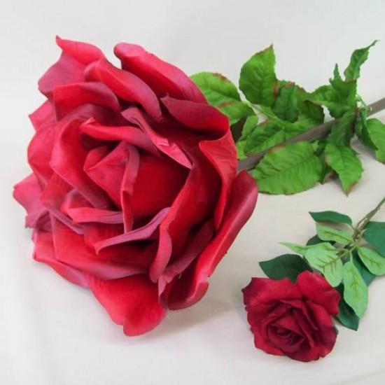 Giant Silk Rose Red | VM Display Prop - R269 N4