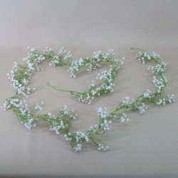 Artificial Gypsophila Garland | White Baby's Breath - G123 D3