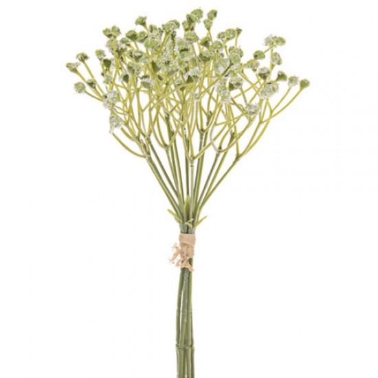 Artificial Gypsophila Bundle Green 24cm - G177 F4