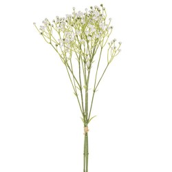 Artificial Gypsophila Bundle White 45cm - G182 F4