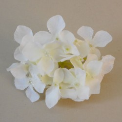 Artificial Hydrangeas Ivory Heads Only 11cm - H063 AA2
