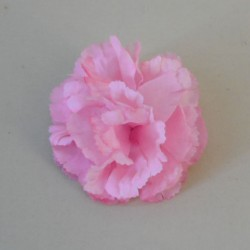 Artificial Carnation Pink Heads Only - C030 C2