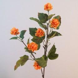 Artificial Harvest Hops Branch Amber Orange - H118 F4