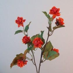 Artificial Harvest Hops Branch Orange - H119 F4