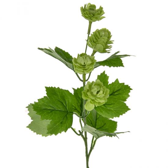 Artificial Hops Short Stem Green - H074 H2