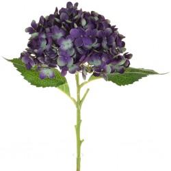 Artificial Hydrangeas Blue Purple 52cm - H059 H3